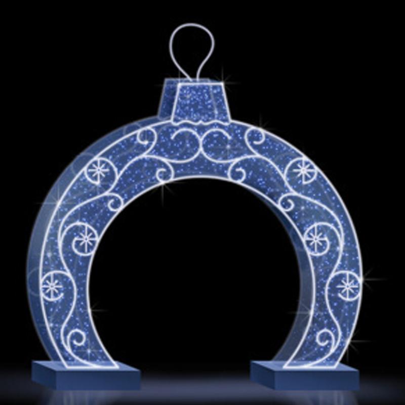 Композиция Арка Новогодний шар