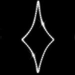 Светодиодный мотив Ромб