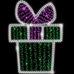 Светодиодный мотив Подарок